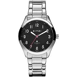 Zinzi Silver horloge ZIW204