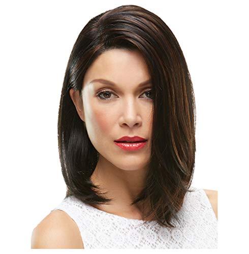 Perücken Makeup Perücke Haarteile Perücke Europäische Und Amerikanische Mode Perücke Damen Weiße Minute Kurze Gerade Haar Chemiefaser Perücke 30Cm