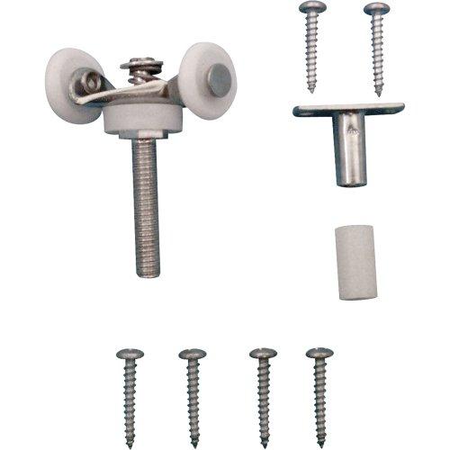 prime-line Produkte N 6534Top Mount Doppelfalttür Tandem Roller mit 7/8Zoll Nylon Rollen -