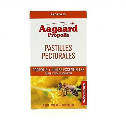 AAGAARD 30 Pastilles Apais toux Propolis Huiles essentielles