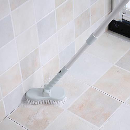 73JohnPol Flexible Langen Griff Bodenbürste Bad Harte Bürste Bad Badewanne Fliesen Licht praktische schnelle Reinigungsbürste (Farbe: 1#) - 05 Bad Licht