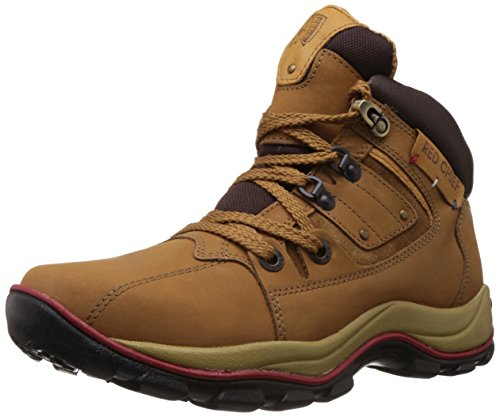 Redchief Men's Rust Leather Trekking and Hiking Footwear Boots - 8 UK (RC2025 022)