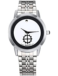 Naivo Men's Quartz Stainless Steel and Gold Casual(Model: WATCH-1115)