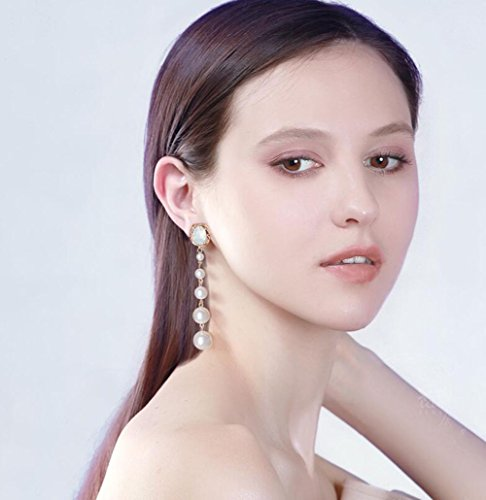 Protein Nagel (ZXLIFE Ohrringe Europa und die Vereinigten Staaten 925 Silber Nadel Ohrringe Ohr Nagel Protein Shil schmücken Raphael Fabel neue Mode,White)