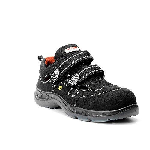 Elten cebbra senza protagonista, sandalo S1 dall'armadio 72129 Nero (nero)