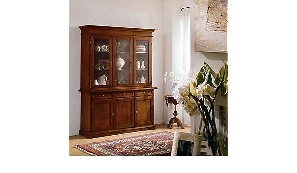 Credenza Vetrina Arte Povera Miglior Prezzo : Mobile credenza vetrina arte povera super prezzo: amazon.it: casa e