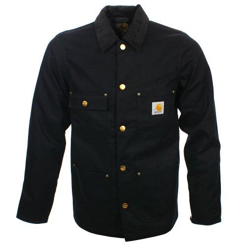 Carhartt Michigan Chore Coat, Blouson Homme, Noir (Black Rigid), M