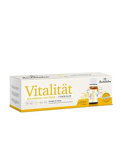 Bachblüten 14-Tage-Kur VItalität für mehr Energie und Vitalität im Alltag mit einer ausgezeichneten Kombination aus Bachblüte, Vitaminen und...