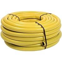 """as - Schwabe 12732 Sunflex - Manguera (50 m, corte recto, 3/4""""), color amarillo [Importado de Alemania]"""