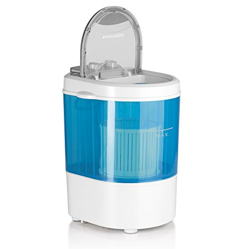 Mini-Waschmaschine Camping-Waschmaschine auch für Single-Haushalte 260W mit Schleuderfunktion, Neue verbesserte Version Modelljahr 2017 (10 Liter, geräuscharm geringer Wasser- und Energieverbrauch )