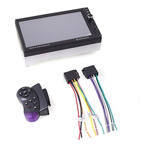 Mini-regal Cd-player (Sedeta reproductor mp5 para coche Receptor estéreo de audio con puerto fm / usb / sd)