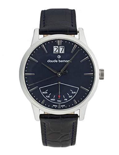 Claude Bernard by Edox Classic Retrograde Men's Watch 41001.3.BUIN Swiss