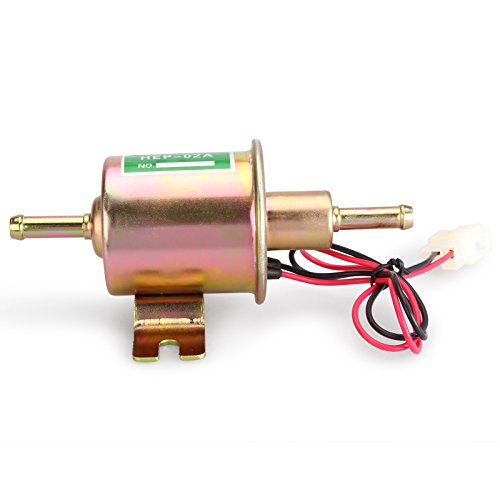 Madlife Garage UNIVERSAL 12V 1.2A Low Pressure Gas Diesel Petrol Inline Electric Fuel Pump External Pump(Model:HEP-02A) Test