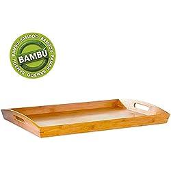 Bandeja de madera Classic bambú