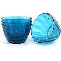 Kreate 6 Acrylic Dinner Bowls - Set of 4 -