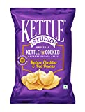 #10: Kettle Studio Mature Cheddar and Red Onions, 47g (Pack of 5)