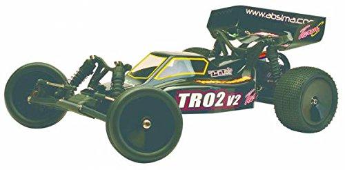 Buggy électrique Team C TR02V2 Brushed 2,4 GHz Propulsion arrière prêt à fonctionner (RTR) 1:10