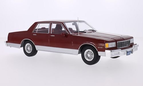 chevrolet-caprice-classic-sedan-metallic-dark-red-1985-model-car-ready-made-mcg-118