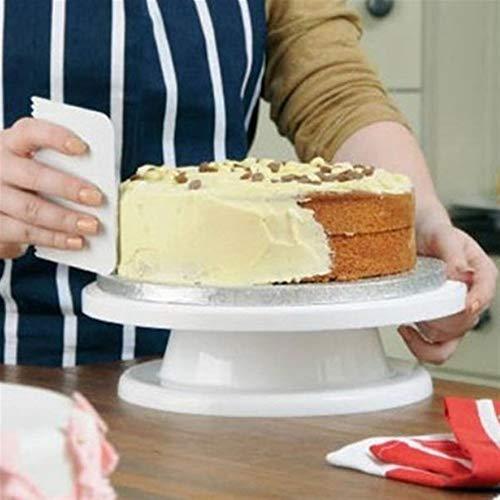 Wuchance Backen-Werkzeug-Kuchen, der Drehscheibe verziert Küche liefert