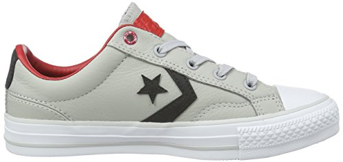 Converse Star Player, Baskets  mixte adulte Gris (Ash Grey/Black/Casino)