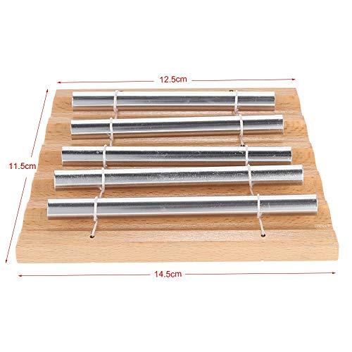 Zufriedenstellendes Produkt 5-Ton Tischspiel-Glockenspiel-pädagogisches musikalisches Spielzeug-Schlaginstrument mit Holzhammer für Kinder Kinder (Size : 2)