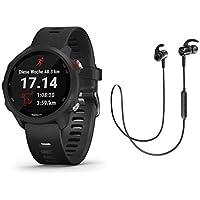 Garmin Forerunner 245 Music - GPS Laufuhr/Smartwatch mit Musikfunktion - inkl. Bluetooth Headset - schwarz