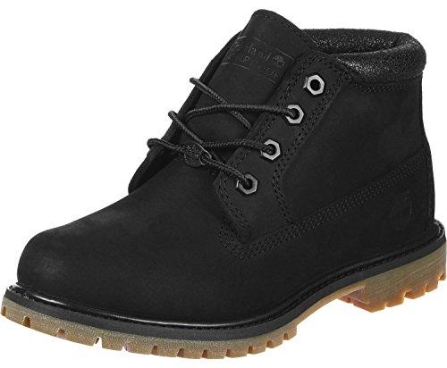Timberland Damen Boots Nellie Chukka Boot Black Charred 42 - Premium-wasserdicht Chukka Boot