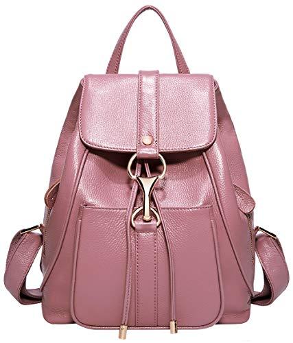 Leder Rucksäcke für Damen Geldbörse Rucksack Schulter Damen Fashion Daypack