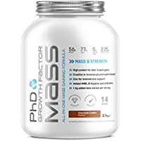 PhD Nutrition Growth Factor Mass Powder, Chocolate Cookie, 2.1kg