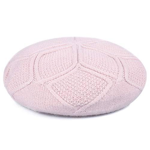 kyprx Sonnenschirm Sonne Sonne Abdeckung Kostüm elastische achteckige Kappe weibliches Haar Dame Baskenmütze Maler Hut weiblich rosa (Weibliche Gangster Kostüm)