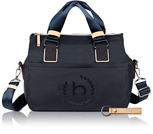 bugatti Ladies Lido - Damen-Handtasche mit RFID Fach, navy blau