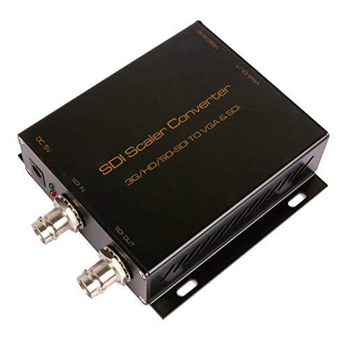 NUYAN SDI zu VGA Konverter mit Audio Extractor SDI zu HDMI Konverter, Unterstützung von Full HD, 3G, HD, SD-SDIhigh tech Matrix-port Expander