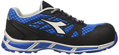 Diadora D-Trail Low S3 Sra Hro, Chaussures de Sécurité Homme Blanc Cassé (Azzurro/nero)