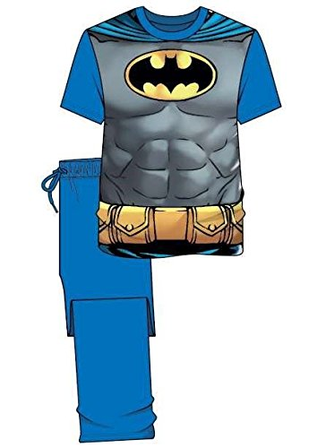 Disney - Pijama - para hombre BATMAN GRIS/BLEU medium