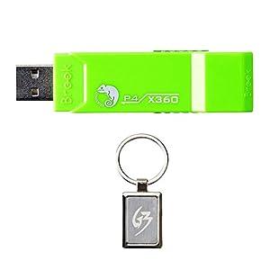 Gam3Gear Brook Super-Converter Spiele-Adapter X bis PS4 mit Keychain