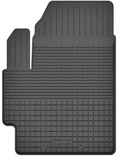 KO-RUBBERMAT 1 Stück Gummimatte Fußmatte Fahrer geeignet zur Mitsubishi COLT VII (Bj. ab 2008) ideal angepasst (Colts-fußmatten)