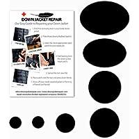 Down Jacket Repair Patch Kit (Self-Adhesive) BLACK
