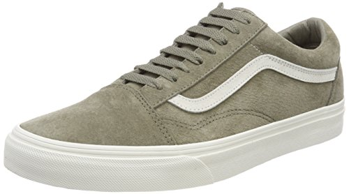 Vans Damen Old Skool Sneakers Grau (Pig Suede)
