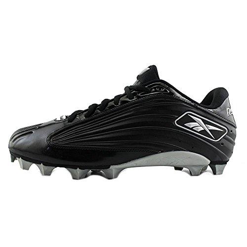 Reebok NFL Outsidespeed Low M Synthetik Klampen Black/Black