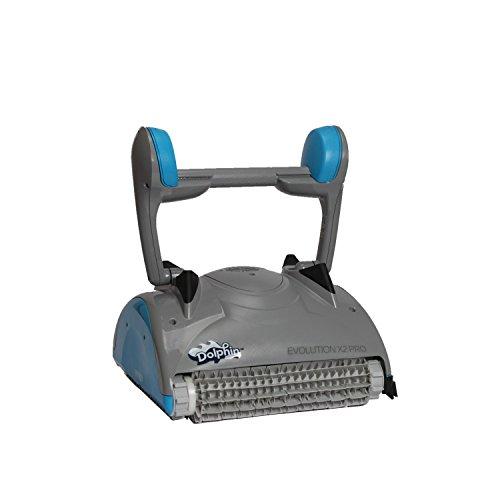 Vollautomatischer Poolroboter Dolphin Evolution X2 PRO mit PVC-Bürsten