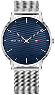 Tommy Hilfiger Men's Quartz Watch, Analog Display and Stainless Steel Strap 179