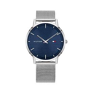 Tommy Hilfiger Reloj Analógico para Hombre de Cuarzo con Correa en Acero Inoxidable 1791663