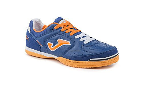 JOMA CALCETTO TOP FLEX 604 ROYAL-ORANGE FLUOR INDOOR 37.5