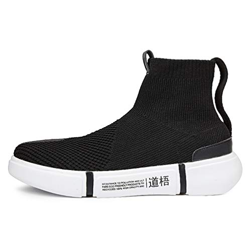 Qianliuk Herren Freizeitschuhe Herren Sneaker Schuhe Wohnungen Bequeme Slip-On Atmungsaktive Socken Schuhe Unisex Wanderschuhe