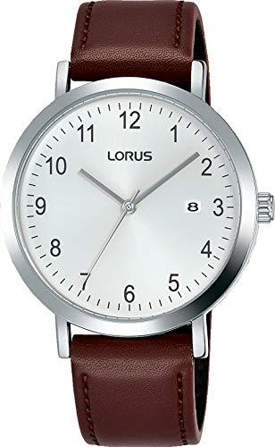 Lorus Reloj Analógico para Hombre de Cuarzo con Correa en Cuero RH937JX9