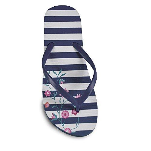 Dinzio Blu Donna Flip Navy Flop YxqX4XST
