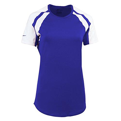Nike Damen T-Shirt Volleyball Gr. X-Small, königsblau