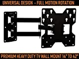 Caprigo Super Heavy Duty TV Wall Mount Bracket for 14 to 42 inches