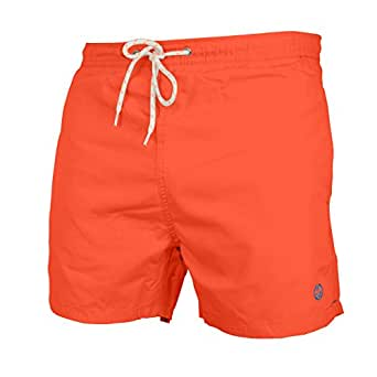 AFS Mens Swimming Shorts Swimwear Beach Casual Mesh Lined Trunks Sizes S-XXL (S, Coral)