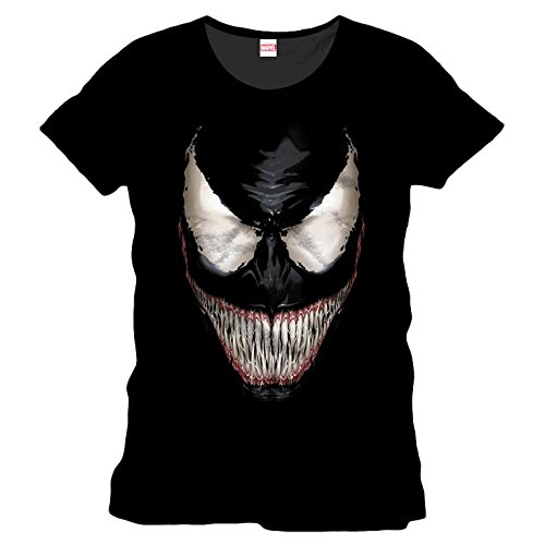 Spiderman - Venom Smile Men T-shirt - Black